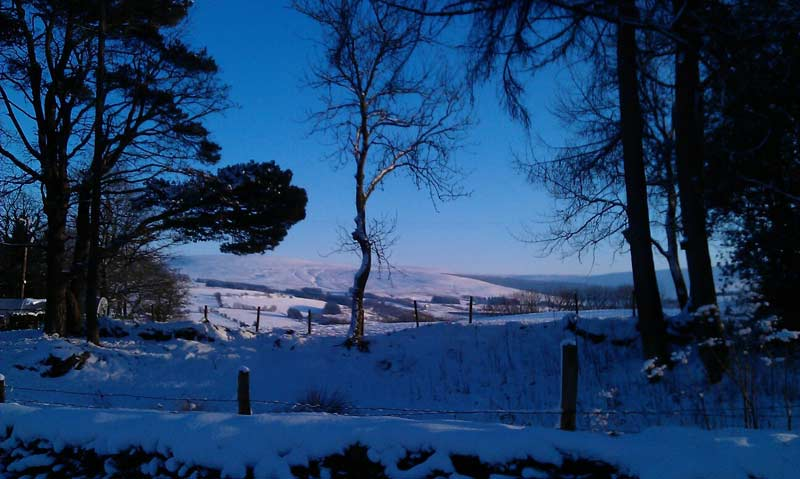 brecon beacons holiday cottage Christmas