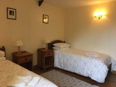 Twin room Bryniau Pell